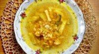 Приготування розсольнику з куркою, з перловкою і рисом