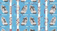 Як зав'язати шнурки на кедах красиво?