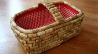 Виготовлення килимка з винних пробок: послідовність дій