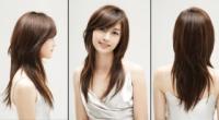Стрижка для овального обличчя на середнє і коротке волосся