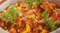 Рецепт приготування смачного гуляшу з свинини в мультиварці