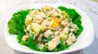 Ананасовий салат з куркою – екзотика з простих продуктів!