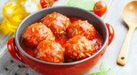 Їжачки з фаршу з рисом – м'ясна страва або доповнення до гарнірів