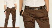 З чим носити і як підібрати верх під коричневі штани?