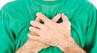Тисне у грудях посередині: причини