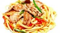 Китайська локшина з куркою і овочами: рецепти з фото