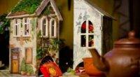 Місце, де живе чай, або декупаж чайного будиночка своїми руками