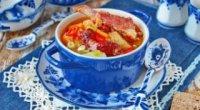 Рецепти приготування ситного і смачного супу: вчимося готувати шулюм з свинини