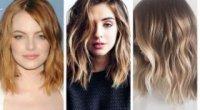 Волосся до лопаток: вибираємо зачіски і омбре на середнє волосся