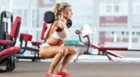 Присідання для схуднення ніг, стегон, живота