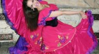 Циганська спідниця: як зшити своїми руками стильний предмет одягу