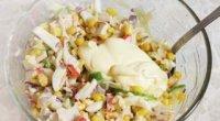 Салат із крабових паличок — простіше простого!