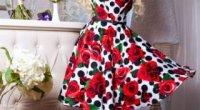 Сукня сонце-кльош: як правильно підібрати колір і аксесуари