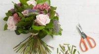 Секрет красивого букета. Збірка квітів по спіралі