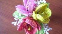 Тюльпан з бісеру: самий зрозумілий і доступний майстер-клас