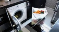 Пральна машинка на кухні: поради по установці