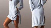 Якими бувають сукні з капюшонами і з чим їх носять?