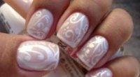 Білий манікюр для коротких нігтів: правила нанесення і оригінальні ідеї