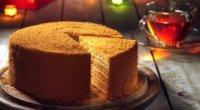 Медовик з заварним кремом – 3 смачні рецепти