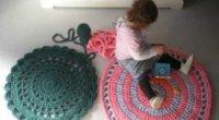 Створюємо килимки зі старих речей