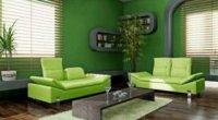 Фарбуємо стіни в позитивний зелений!