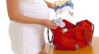 Сумка в пологовий будинок: список речей по пакетах