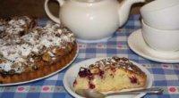 Пиріг з замороженою вишнею з листкового тіста: рецепти з фото