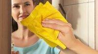 Як помити дзеркало без розводів народними засобами, без хімії і миючих засобів