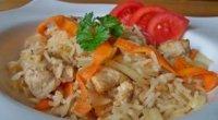 Курка з рисом в мультиварці: рецепти приготування