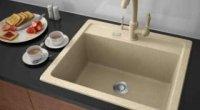 Мийка кам'яна для кухні: сучасне рішення для дому