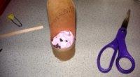 Як зробити стілець для ляльок з підручних матеріалів