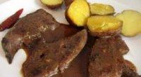 Рецепти з приготування телячої печінки