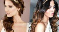 Зачіска в грецькому стилі на середнє і довге волосся