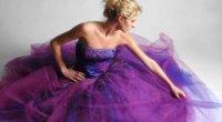 Сукня бузкового кольору – підбираємо макіяж і аксесуари