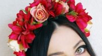 Квітковий обідок – оригінальний аксесуар, що підкреслює жіночність