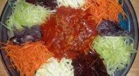 Легке частування на святковий стіл – салат «Козел на городі»