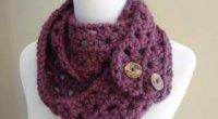 Як зв'язати шарф-снуд гачком: схема і опис в'язання снуда