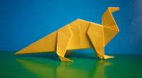 Як зробити динозавра з паперу своїми руками?