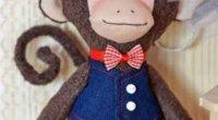 Як зшити іграшку-мавпочку тільду?
