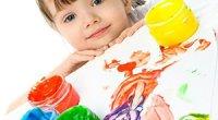 Малювання пальчиковими фарбами для малюків