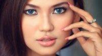 Як підібрати гарний макіяж для круглих очей