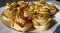 Яблука в листковому тісті, запечені в духовці: рецепти