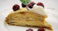 Млинцевий торт з заварним кремом: покроковий рецепт з фото