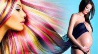 Чи можна фарбувати волосся під час вагітності