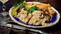 Бефстроганов з яловичини: 6 покрокових рецептів