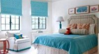 Вміле поєднання кольорів в інтер'єрі спальні