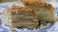 «Наполеон» на сковороді з заварним кремом: рецепти
