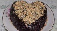 Рецепт торта «Чорний принц» зі згущеним молоком і варенням