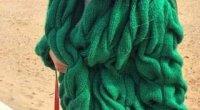 Візерунок коси спицями: схеми і опис
