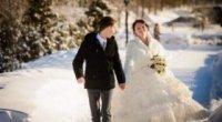 Сніжна чарівність: організовуємо весілля взимку